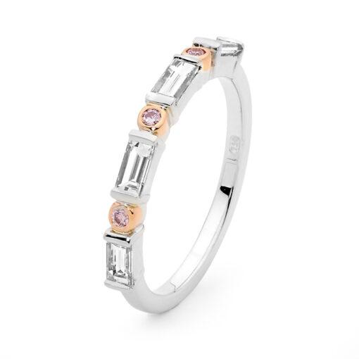 Edjw008 Desert Rose Jewellery Stunning Pink Diamond Wedder