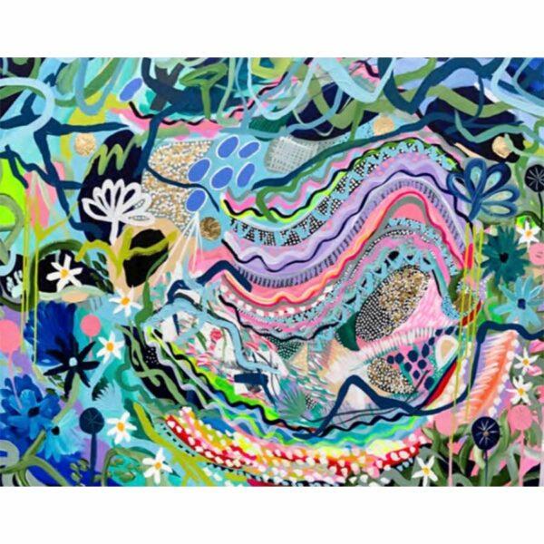 Joan Blond Serpentine Soothing Painting