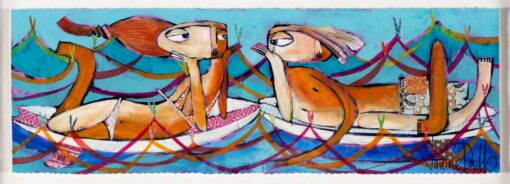 Janine-Daddo-On-Waves-of-Love-Painting